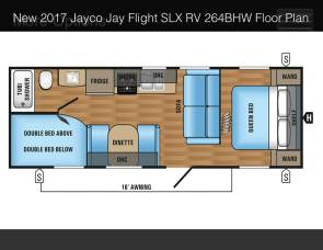 2017 Jay Flight 264BHW