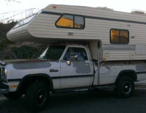 1989 Vacationeer on Ford F350