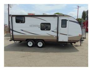 2017 Forest River Wildwood 22' Travel Trailer