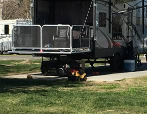 2018 Eclipse Attitude 28' Toyhauler with 2 slides