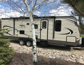 2018 Keystone Hideout 26LHSW Bunkhouse With Solar Panel