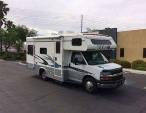 2008 CHEVY 24FT CLASS C RV SLEEPS 6 DRIVES LIKE A CAR NICK NAME (SHORTY)
