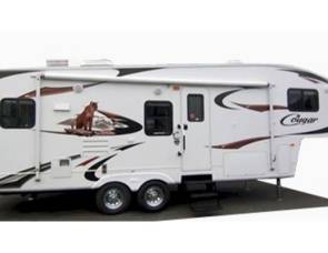 2007 Fifth wheel Cougar