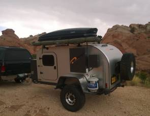 2014 Moby 1 XTR offroad teardrop trailer