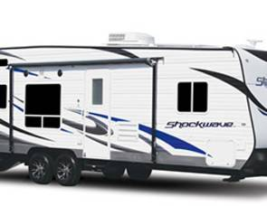 2017 Forest river  Shockwave Toyhauler