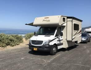 2016 Mercedes  Coachman prism