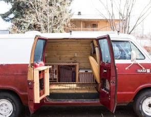 1985 Dodge B250 Camper Van
