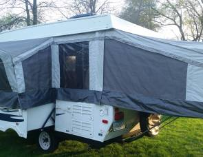 2013 PALOMINO 1206 POP-UP CAMPER