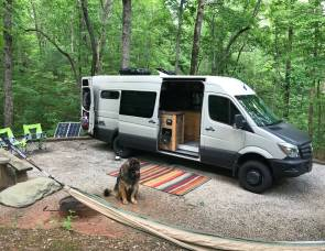 2017 Custom Luxury Mercedes Sprinter Conversion Van with Trip Planning