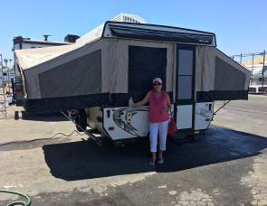 Clipper 806LS tent trailer