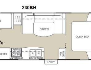 2013 Coachmen Freedom Express 230BH