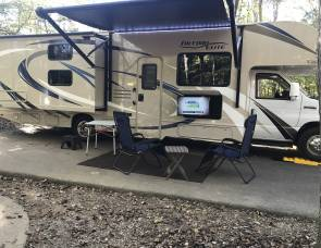 Freedom Elite 30FE, 2 bunk beds, sleeps 8, Outdoor entertainment