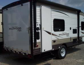2018 Forest River Wildwood 180RT (toy hauler)