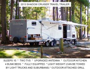 2013 Shadow Cruiser 280QBS