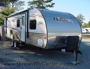 2013 Shasta Oasis 26DB OH