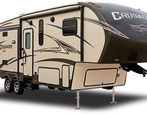 2017 Crusader Lite 31 Ft 5th wheel