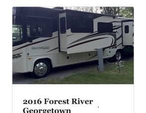 2016 Forest river Georgetown