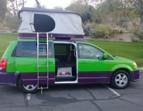 2012 Mini RV campervan motorhome, Seats 5, Sleeps 4