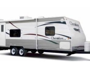 2008 Cherokee 28 bunkhouse