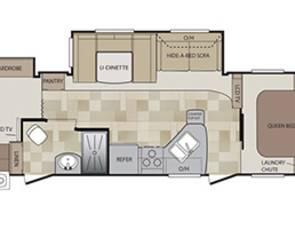 2015 Keystone Cougar Bunk House