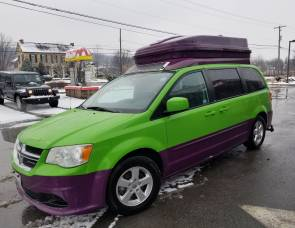 2012 Dodge Grand Caravan Camping Van. Mileage Included!