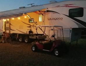 2007 Forrest River Wildwood Toy Hauler