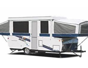2007 Jayco Jay Series 1207 Pop-up Trailer, LOADED!