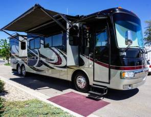 2011 43′ Monaco Diplomat Ultra Luxury Class A Motorcoach Rental with Satellite TV. Offers Guaranteed Reservations