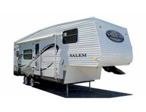 2010 salem 5 th wheel toyhauler