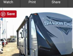 2018 Trailer  Shadow cruiser