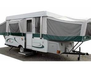1991 Coleman Chesapeake tent trailer