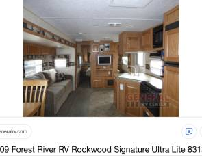 2009 Rockwood   8313ss