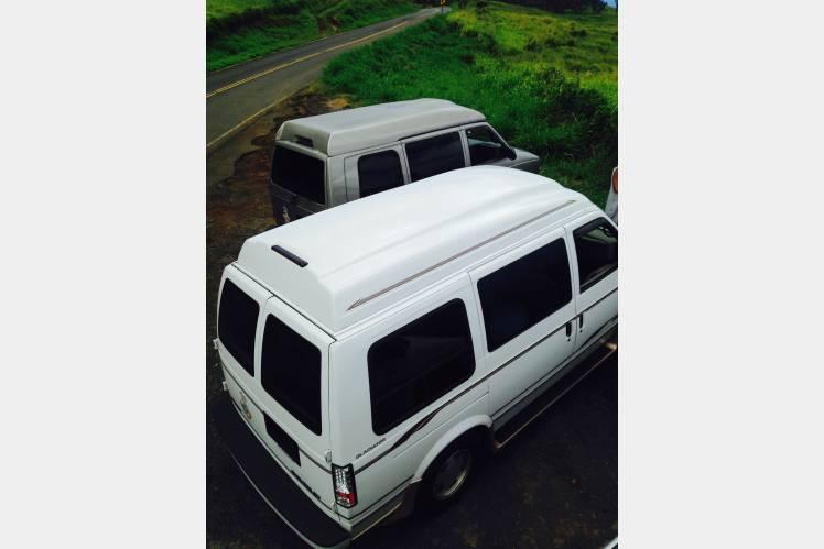 90fe98152e 2000 Chevy Astro Conversion Van - Makawao