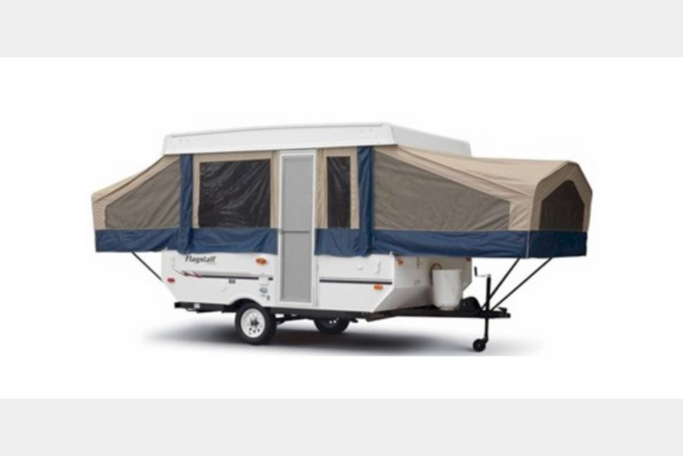 2010 Rockwood HW 296 - Rockwood High Wall Folding Trailer