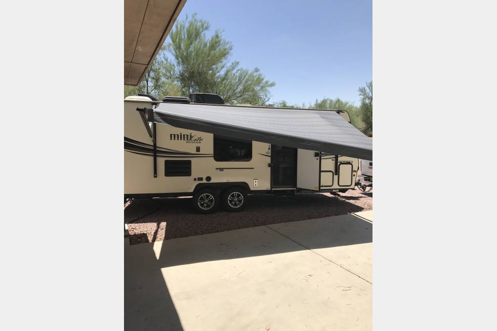 2015 Forest River-California Rockwood Mini Lite - 2015 Forest River-California Rockwood Mini Lite