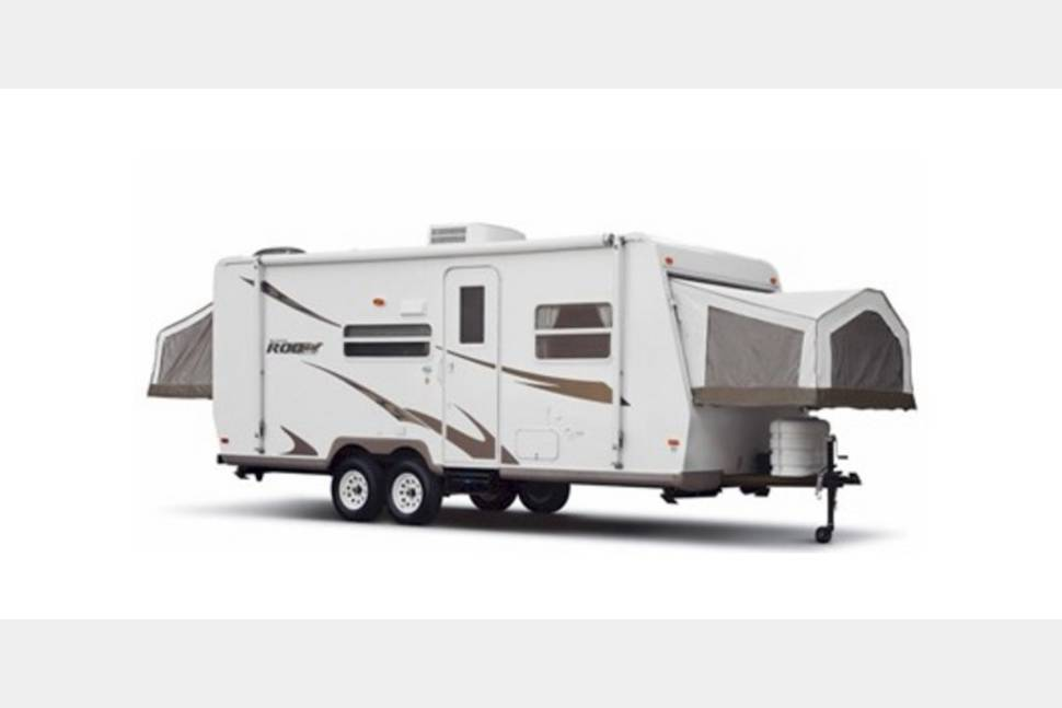 2007 Forrst River Rockwood Roo - Fun Rv!