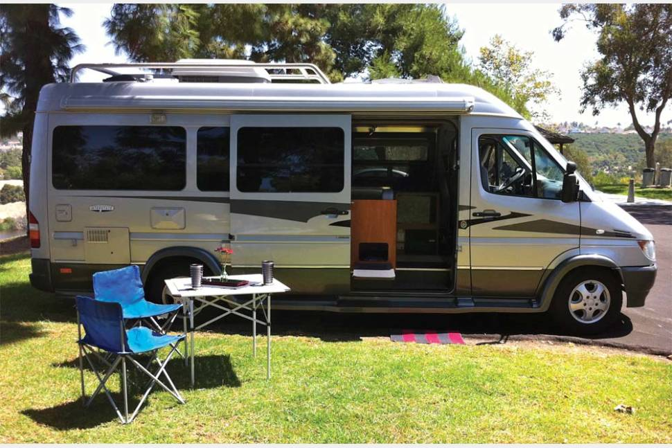 Mercedes sprinter rv rental california for Mercedes benz rv rentals