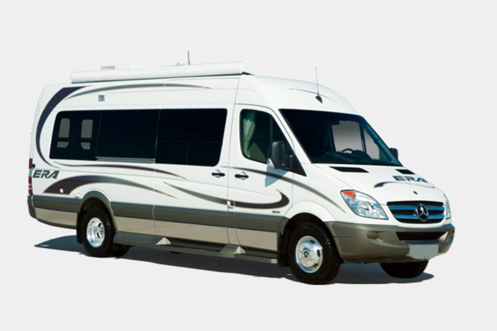 2013 winnebago era 70x class b mercedes benz chassis rv