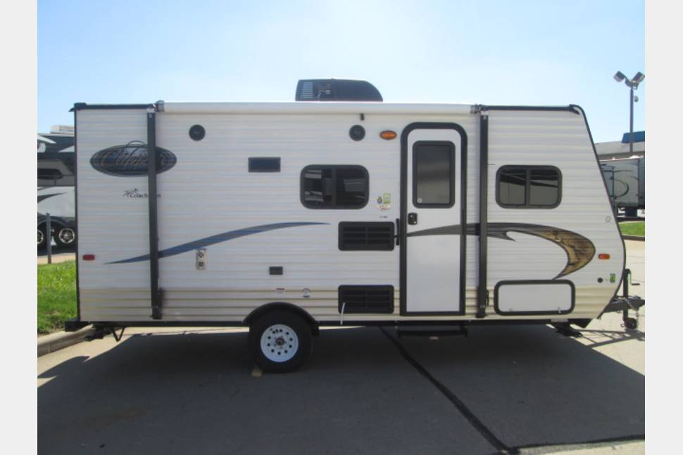 2014 Coachmen Clipper 17hb - 2014 Coachmen Clipper 17BH