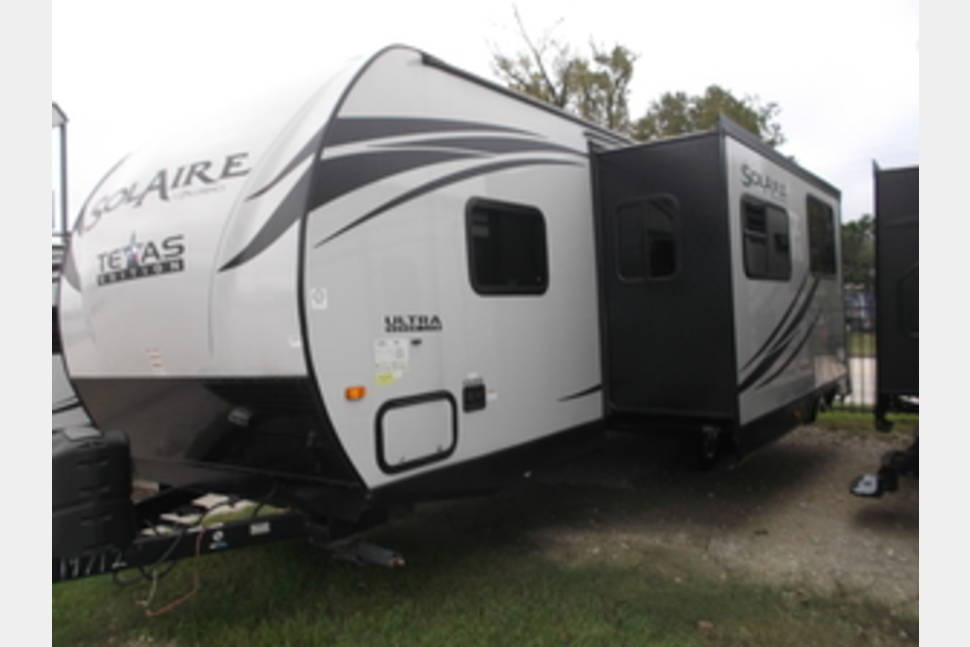 2015 Palamino Solaire - 267BHSK - Silver Glamper