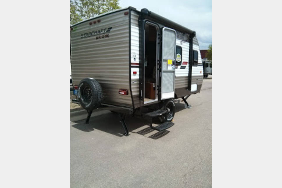 2014 Starcraft AR-One - 14 RD Extreme Arctic - New Starcraft AR One 14 Foot Extreme Arctic Travel Trailer