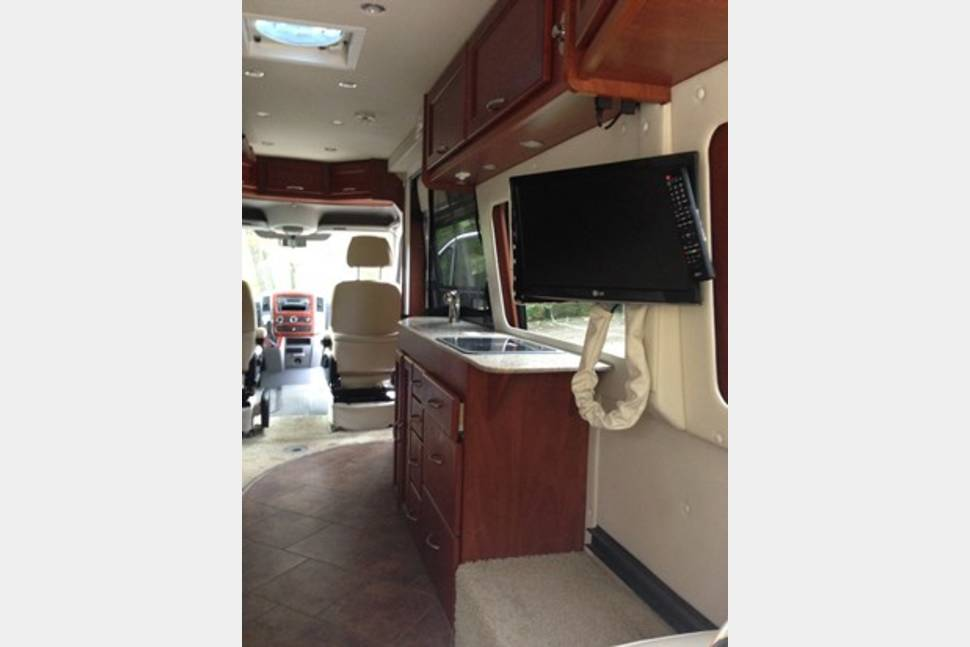 2013 Great West Van Legend - Class B Mercedes - Elegant RV Vacation RV - Diesel