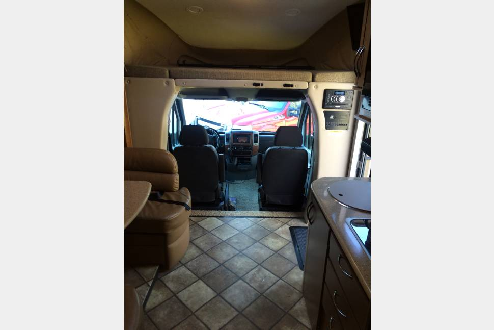 2014 Mercedes Sprinter Citation - Mercedes luxury and economy in a compact size.