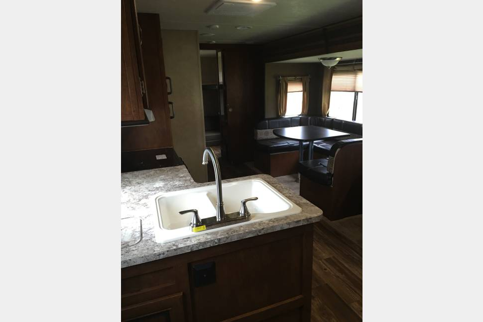 2016 Forest River Vibe Extreme Lite 287QBS - The Gilded Lady... Insurance included!