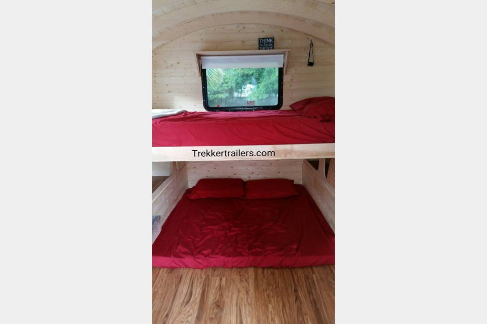 2015 Trekker Trailers Gypsy Wagon - Blue - Trekker Trailers Gypsy Wagon