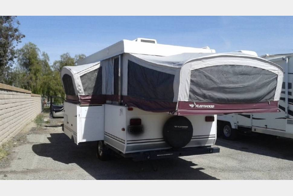 2007 Fleetwood Niagara - Peace and contentment. Super easy to tow! Can be set up in less than 20 minutes. Tons of windows make it feel so open and airy. Outdoor rug and awning included