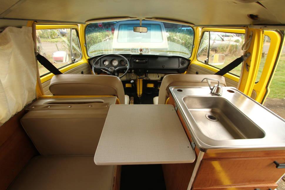 1970 Volkswagen Riviera - Hawaii Surf Campers - Vintage Riviera Bus - Oahu