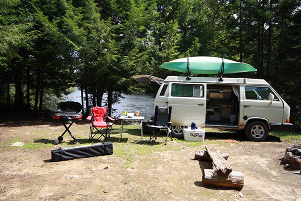 1991 VW, Westafalia Camper Van - All New England & Maritime - Vintage VW Van -- Westfalia Vanagon