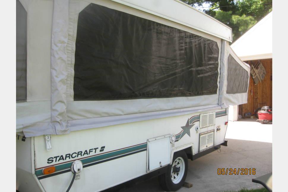 1993 Starcraft Starstream - Pop-Up Camper Rail Jumper