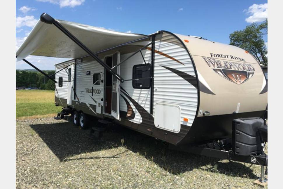 2016 Wildwood 29UD3 - The PERFECT family camper!